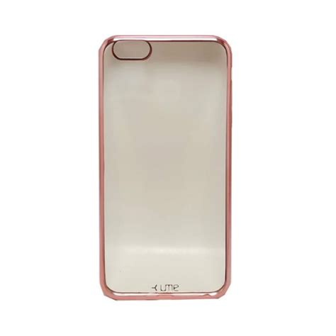 Ume Original Iphone 5 Se Softcase jual ume electropaint metal hybrid tpu soft iphone 6 plus 6s plus gold indonesia