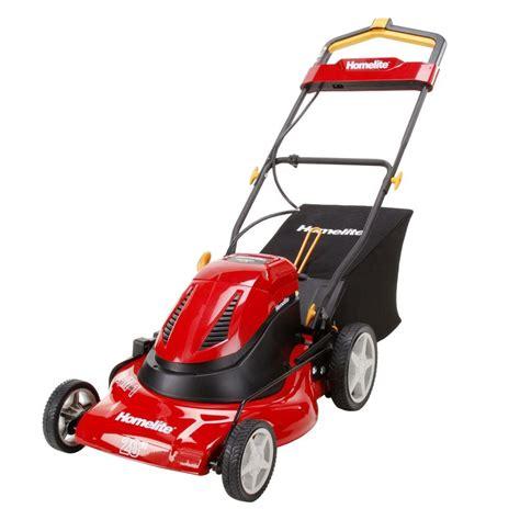 homelite ut13126 20 in cordless electric walk lawn