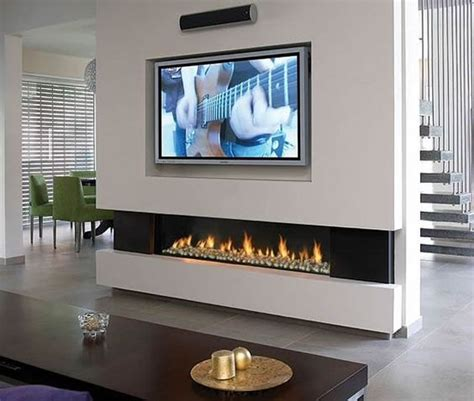 fitting tv above fireplace installation gas lcd