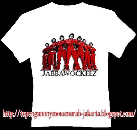 Topeng Jabbawockeez Custom kaos jabbawockeez murah kode 2b012 topeng anonymous