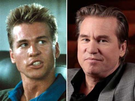 pictures of val kilmer 2014 turn back the time and see what these 35 actors from the