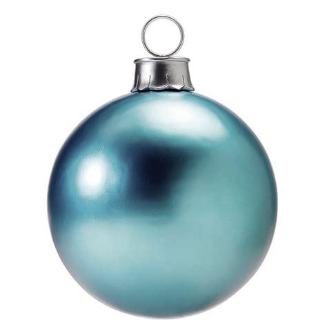 deco bola de navidad 216 60 cm color azul hielo