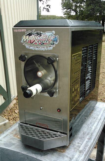 refurbished margarita machines slush frozen drink