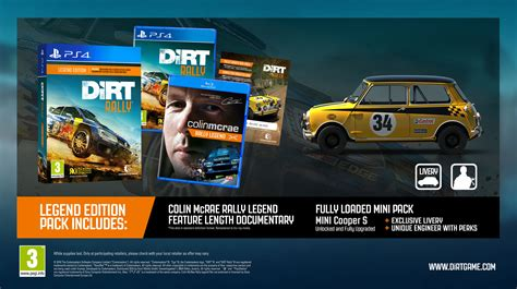 Kaset Ps4 Dirt 4 Dirt4 Special Edition Ps 4 dirt rally new content and trailer playstation nation playstation nation