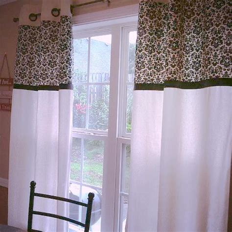 diy no sew kitchen curtains hometalk