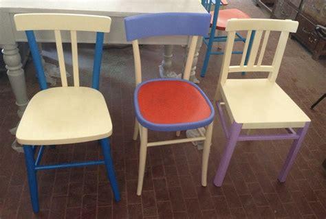 restauro sedie imbottite sedie legno colorate 29 mobili e arredamento vintage