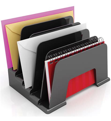 desk top file organizer desk top file organizer safco onyx 8 tiered section