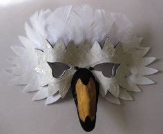 swan mask template diy printable swan mask template kid s craft