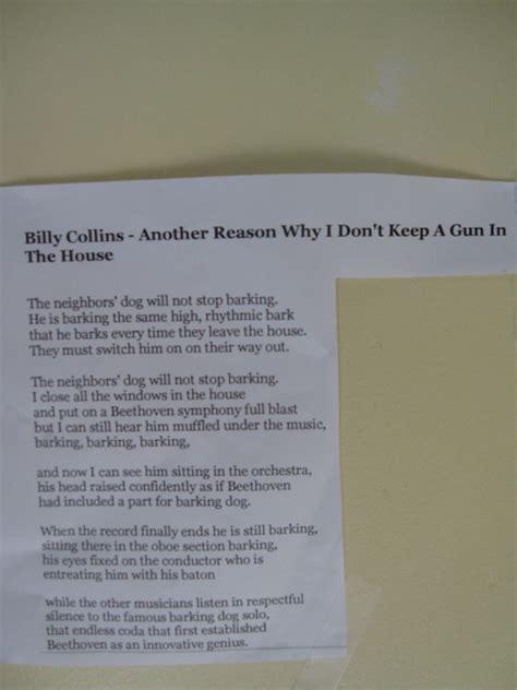 reason   dont   gun   house poem elf