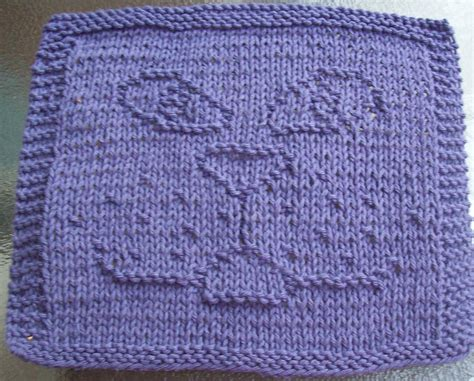 pattern for knitting a dishcloth digknitty designs cat face knit dishcloth pattern