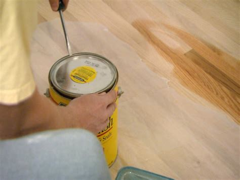 How To Paint Wood Floors Diy Network by How To Stain A Wood Floor How Tos Diy