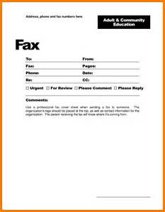 Sle Fax Cover Letter by 8 Fax Cover Sheet Template Microsoft Word Land Scaping Flyers
