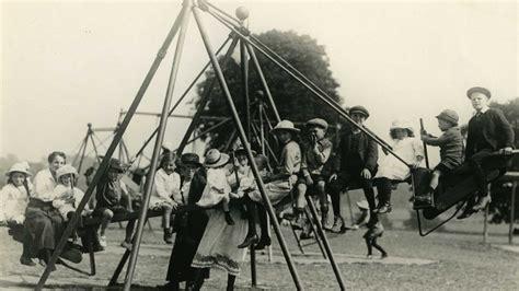 swing 1920s world s first children s slide cbbc newsround