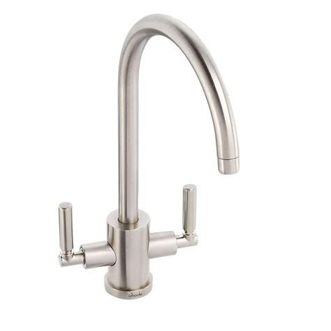 kitchen sinks taps abode atlas aquifier brushed nickel tap at2004 kitchen