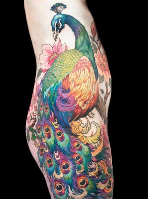 peacock feather tattoo hip peacock tattoos tattoofanblog