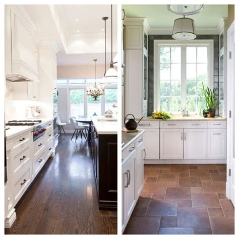 kitchens with wood floors poll wood floors in the kitchen