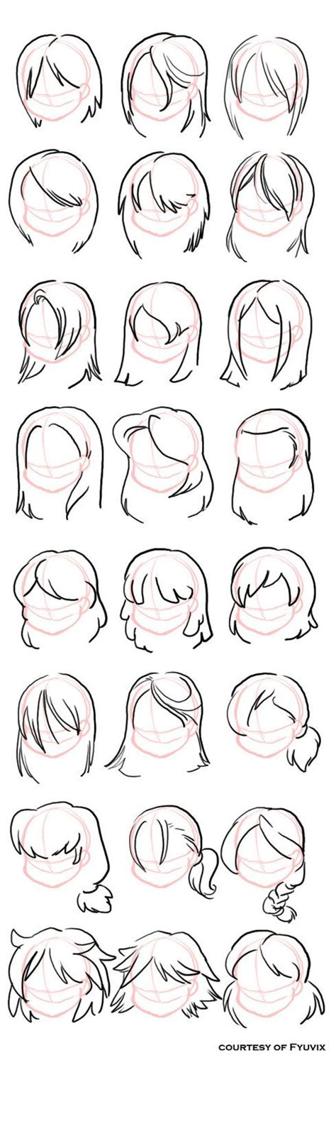 easy way to draw hairstyles best 25 drawing hair ideas on pinterest hair sketch