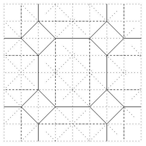 Origami Tessellations Diagrams - how to make easy origami tessellations