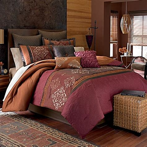 manor hill bedding manor hill 174 chiara 8 piece comforter set bed bath beyond