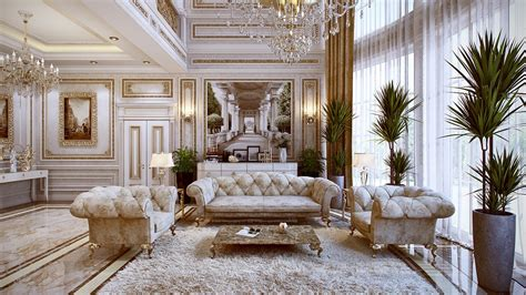 luxury interior luxurious chesterfield sofa interior design ideas