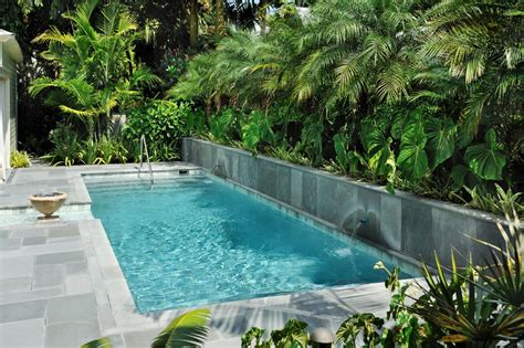 backyard lap pool lap pools for narrow yards landscaping ideas and