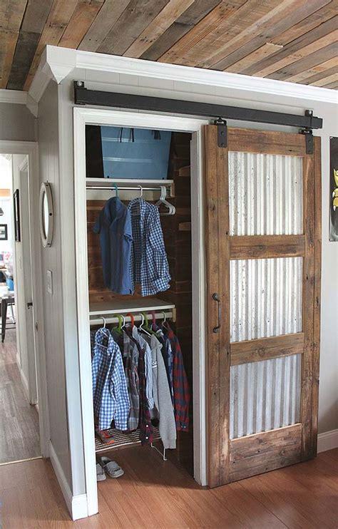 cool barn door closet ideas   diy decor home ideas