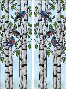 Temporary Wall Murals mattingly l faux privacy stained glass clings and window films