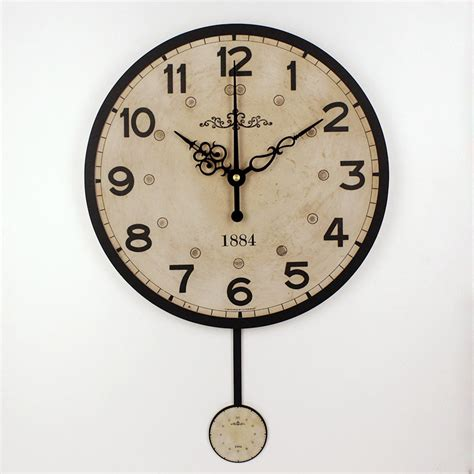 decorative wall clock silent large decorative wall clock modern design vintage