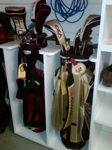 Golf Club Storage Garage by Golf Club Storage Clever Idea Golf Organizer For