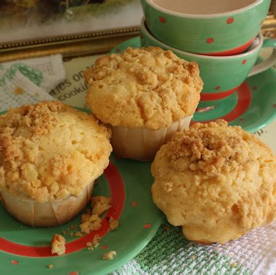 Gemuk Bulgary Hi Temp 400 cherry on a cake muffins with a streusel topping