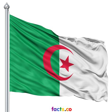 algeria country flag the national flag of algeria the symbol of integrity