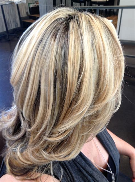 blonde hair with feathered low lights on ends balayage blonde highlights for grey hair lustyfashion