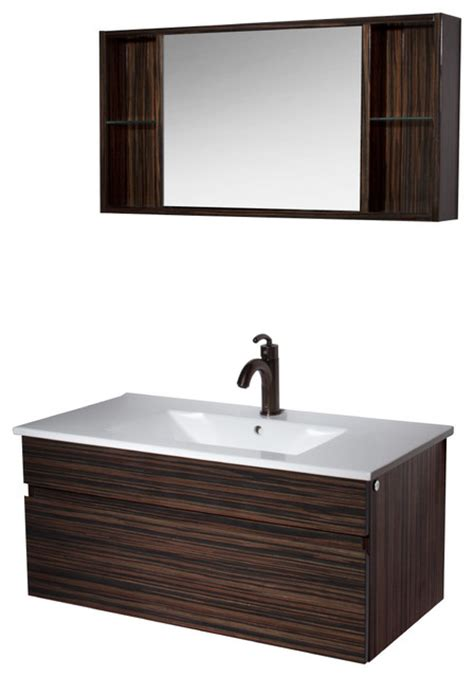 vigo bathroom vanity with medicine cabinet modern