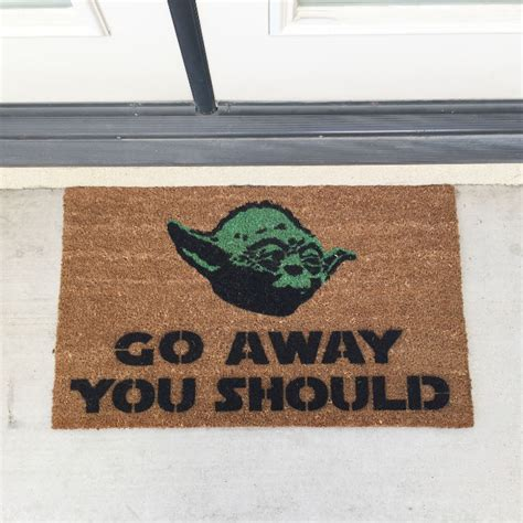 Welcome Go Away Mat by 35 Door Mats To Give Your Guests A Warm Welcome Shopswell