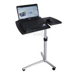 rolling standing desk angle height adjustable rolling laptop desk bed