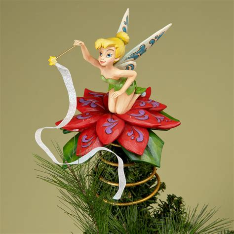 tinkerbell tree toppers for christmas trees disney tinker bell boxes figurines tinker bell collectibles and cookie jars