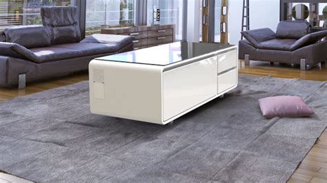 coffee table with built in refrigerator the sobro refrigerator coffee table means you never need