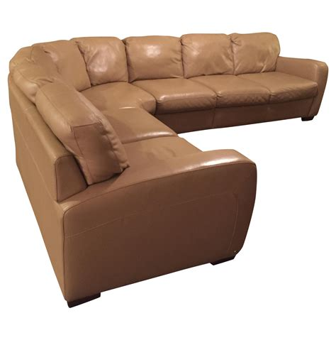 buy natuzzi leather sofa natuzzi leather sectional sofa chairish