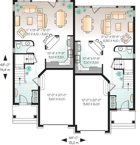duplex floor plans for narrow lots narrow lot duplex house plans home design and style