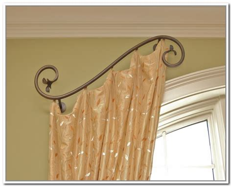 half curtain rods make your interior to be more delightful with half curtain