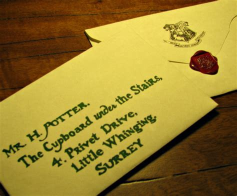 Hogwarts Acceptance Letter Warner Brothers How Well Do You Hogwarts