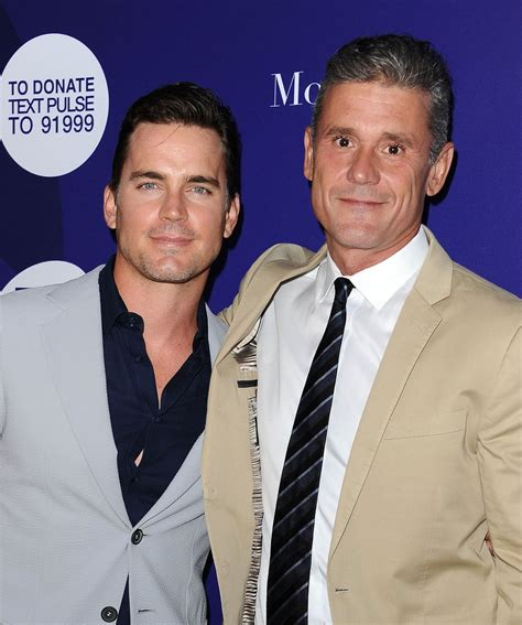 to husband matt bomer and husband out in la august 2016 popsugar
