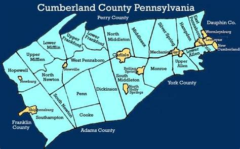 file map of pennsylvania highlighting cumberland county cumberland county pa map my blog