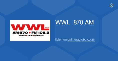 105 3 the fan listen live wwl 870 am 105 3 fm listen live orleans united