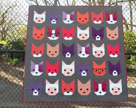sewing pattern quilt sewing pattern elizabeth hartman the kittens quilt