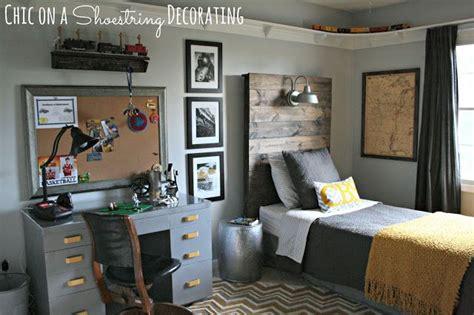 chic   shoestring decorating bigger boy room reveal