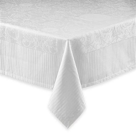 bed bath and beyond tablecloth buy white tablecloths from bed bath beyond