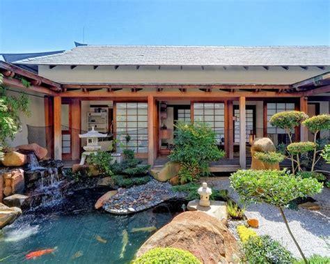 foto foto contoh desain rumah bergaya jepang