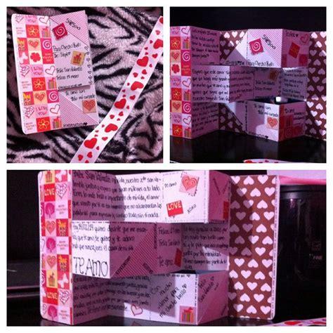 regalos para el dia de san valentin regalo de san valent 237 n para mi novio hecho por mi misma