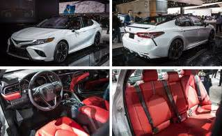 How To Make Car Interior Quieter 2018 Toyota Camry Photos And Info News Car And Driver